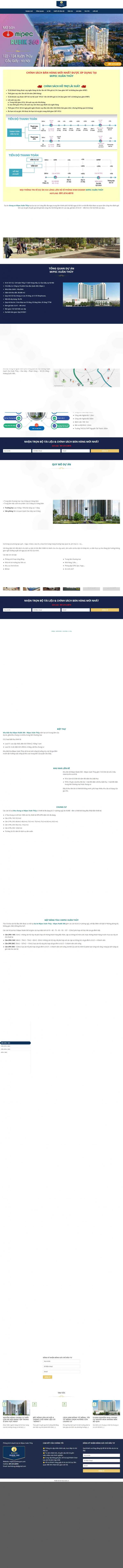 Mẫu giao diện thiết kế website nhà đất chuyên nghiệp