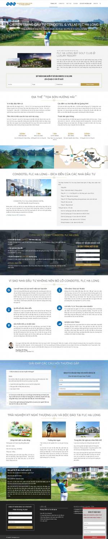 Mẫu giao diện thiết kế web mua bán căn hộ