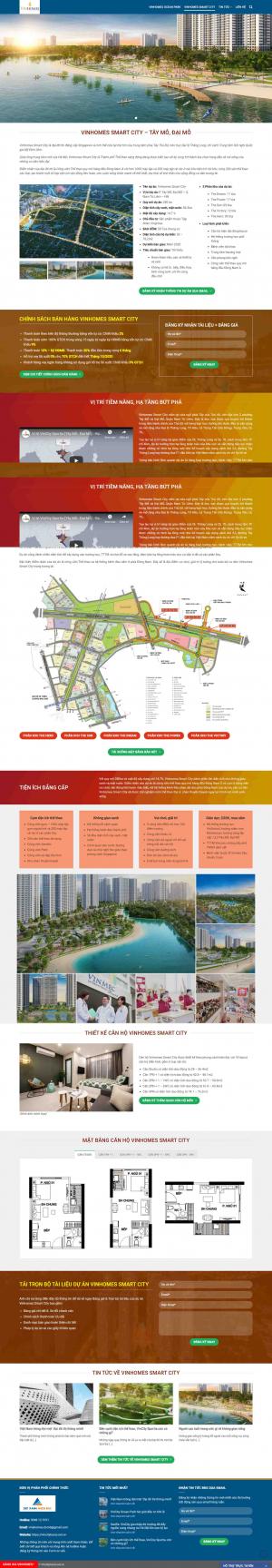 Mẫu giao diện thiết kế web mua bán nhà đất