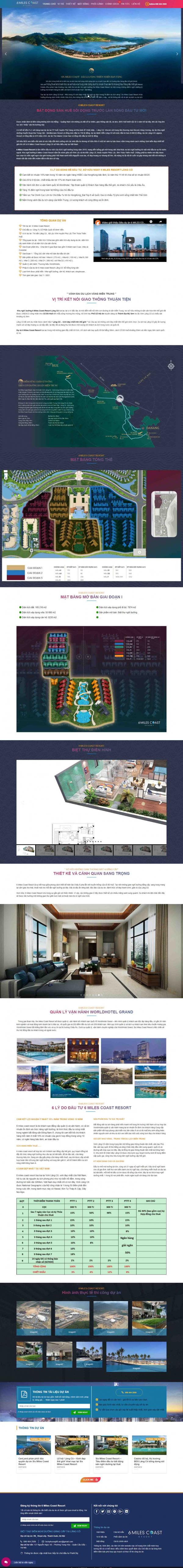Mẫu giao diện thiết kế website mua bán nhà đất