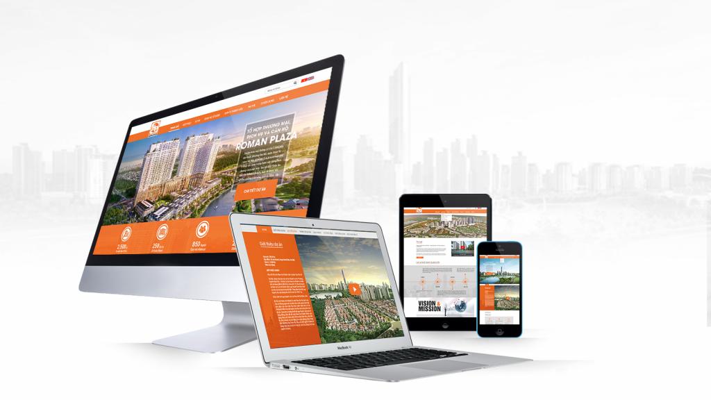 Thiết kế website bất động sản đăng tin môi giới
